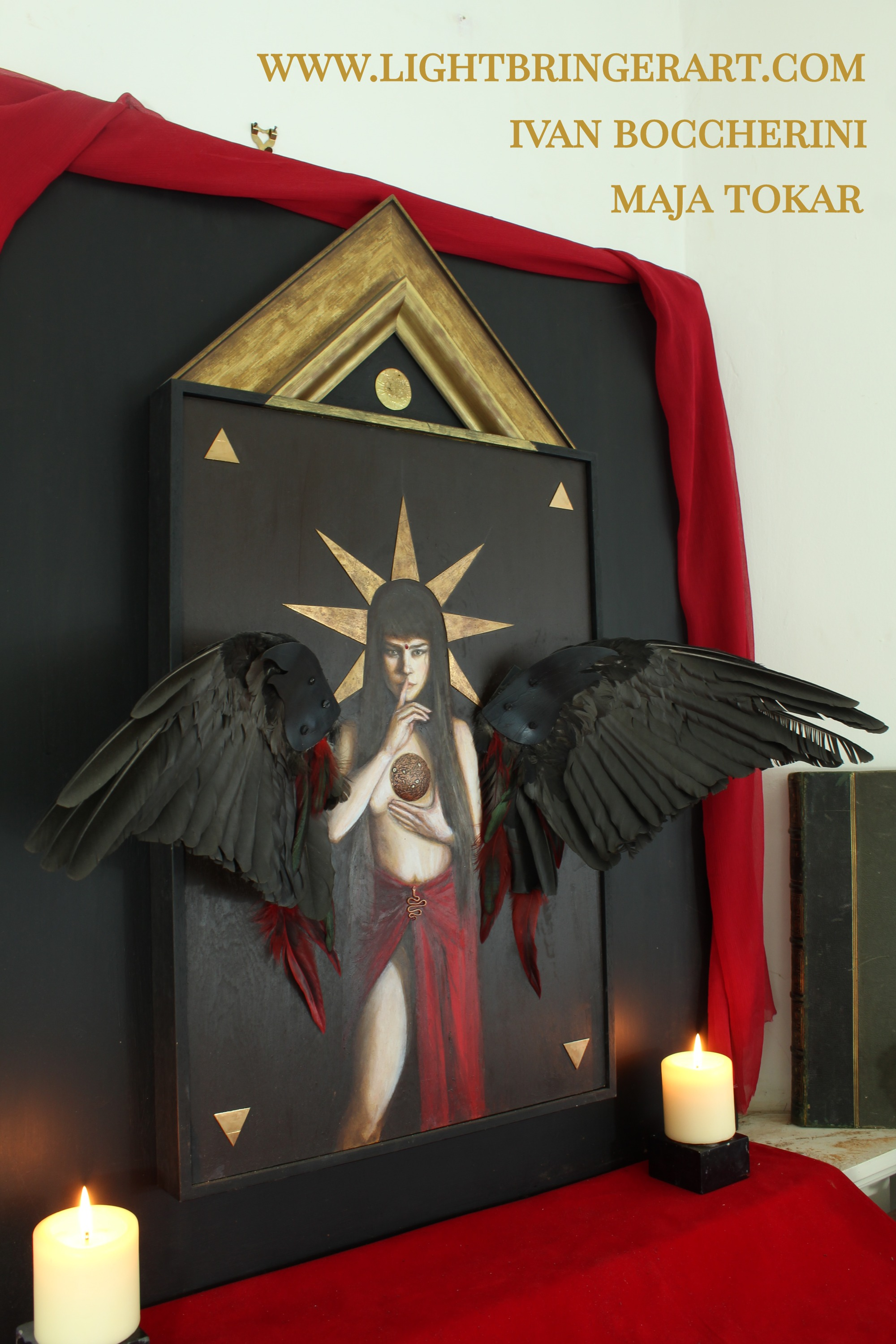 angel shrine