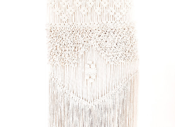 Tulum Handmade Textured Macrame wall hanging / Ready to Ship