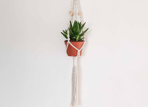 Yang Macramé Beads Plant Hanger / Made to order - Allow 5 working days