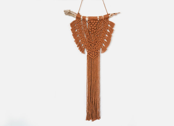 Macramé driftwood wall hanging / Made to order - Allow 5 working days