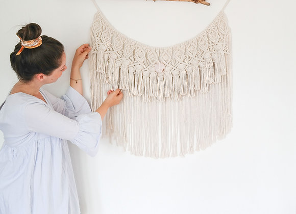 """""""Arco"""" Macrame Wall Hanging / Made to order - Allow 10 working days"""