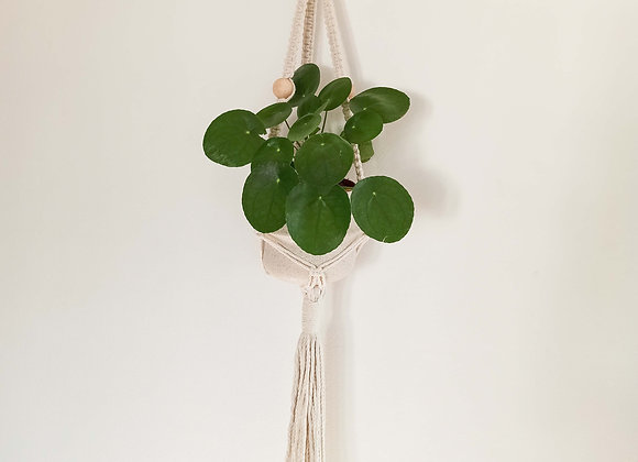 Yin Macramé Beads Plant Hanger / Made to order-Allow 5 working days