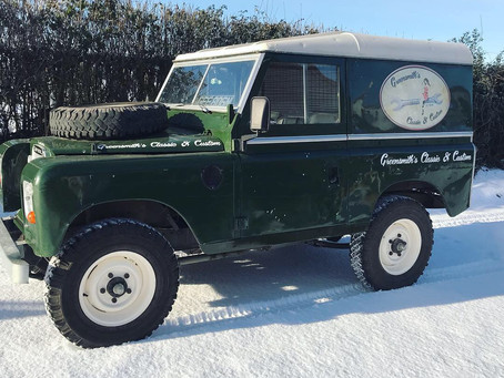 Series 3 Land Rover Recommission