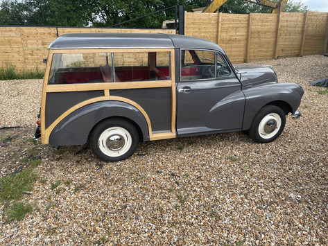 1964 Morris Minor 1000 Traveller Restoration