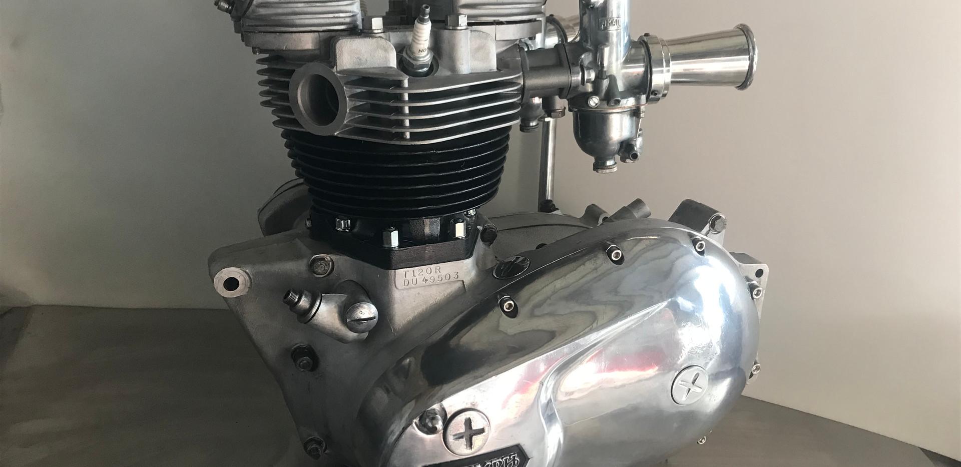 Triumph Bonneville T120 Engine Rebuild