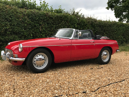 MGB V8 Roadster Recomission