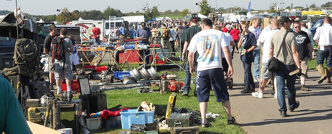 Newbury 4x4 and Vintage Spares Day