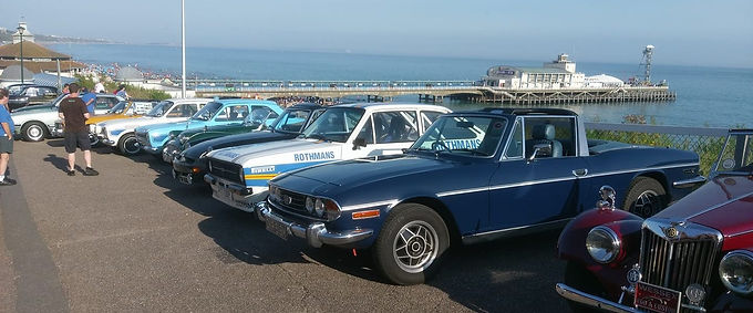 Classic Cars on the Prom - Christchurch Quay