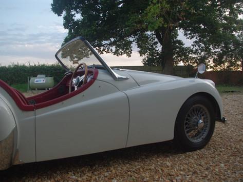 1954 Triumph TR2 Restoration