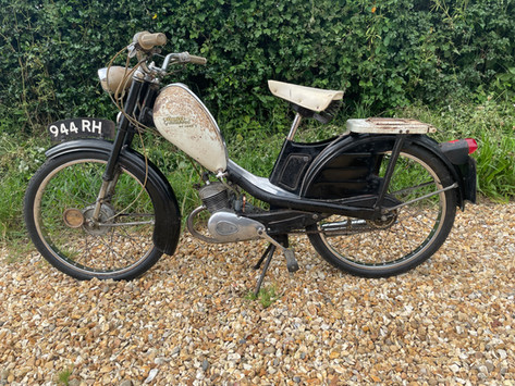 Phillips Gadabout Moped Recommission