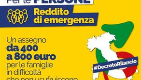 Reddito di Emergenza fino al 30 giugno per le domande