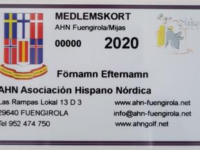 Information till nya medlemmar och de som inte betalt avgiften för 2020!