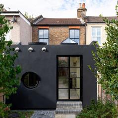 Polyurea-coated extension, London