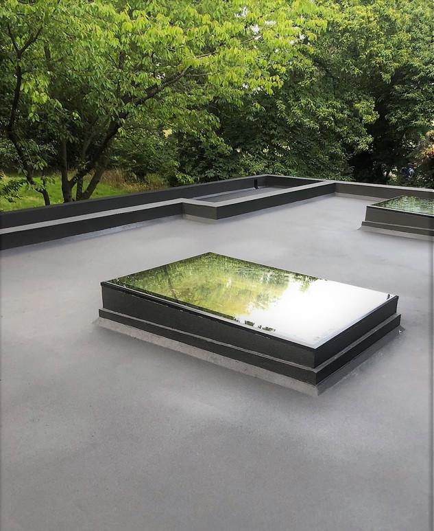 Flat roofing refurbishment, London