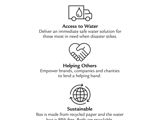 The Sustainable Way to Disaster Relief