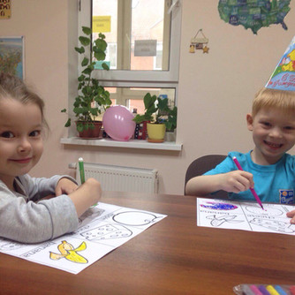 Уроки английского языка для малышей в Екатеринбурге