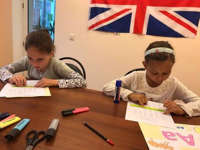 Уроки английского языка для детей