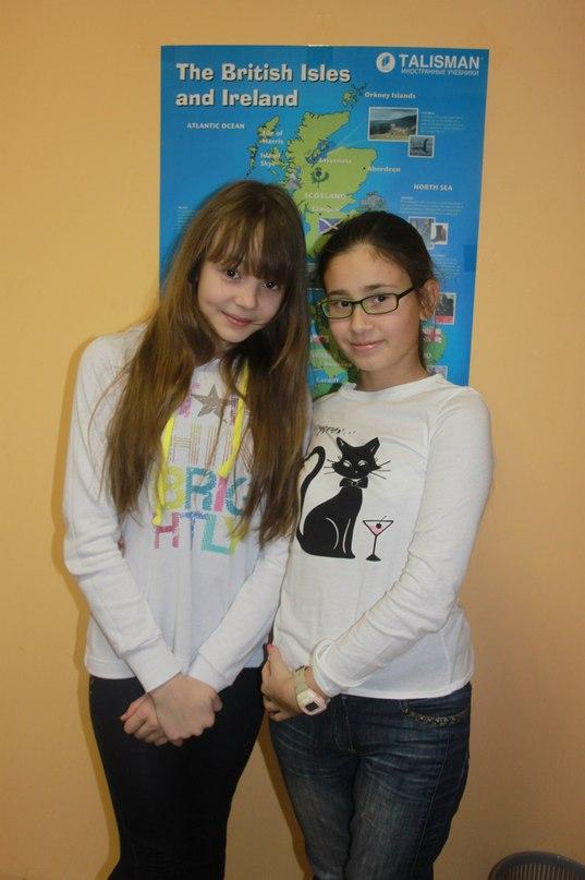 Аня и Даша