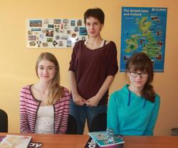 Алена, Полина & Марина Андреевна