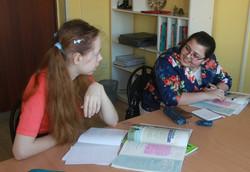 Настя и Таня