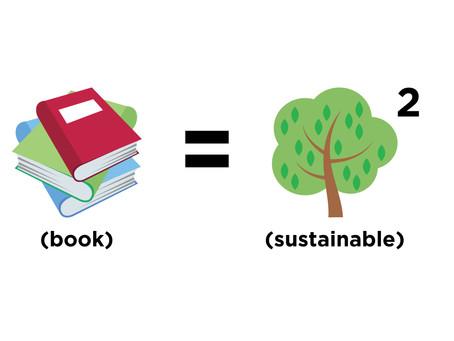 Libri = Sostenibilità^2