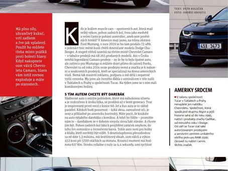 Osm hrnků Ďábla. Test Chevrolet Camaro od Petra Holečka.