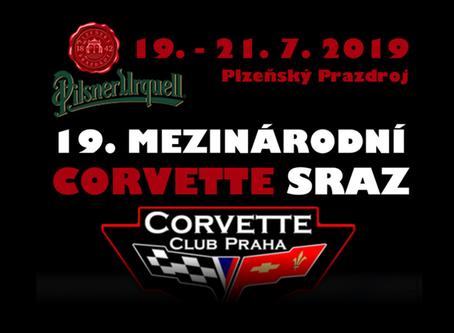 Pozvánka na 19. Mezinárodní Corvette sraz