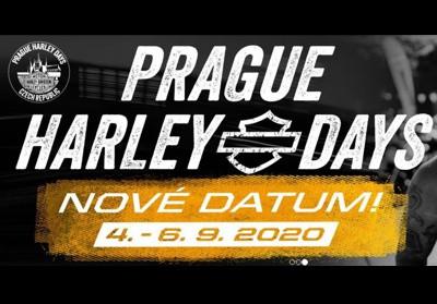 Prague Harley Days 2020 - nový termín