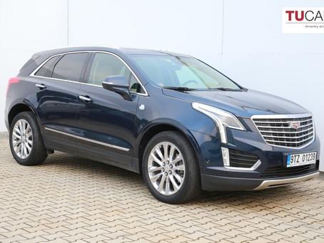 Ojetý Cadillac XT5 za akční cenu!
