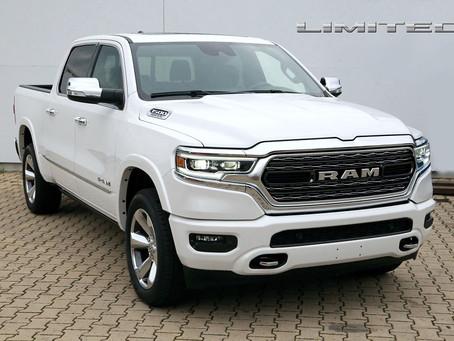 Skladem. Dodge RAM 1500 Limited. OPRAVDOVÝ LUXUS!