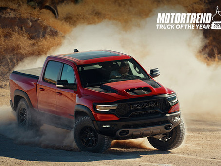 RAM 1500 TRX – TRUCK OF THE YEAR 2021