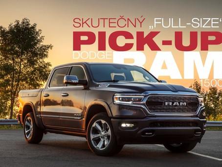 Segment pick-up mizí z Evropy. Dodge RAM zůstává!