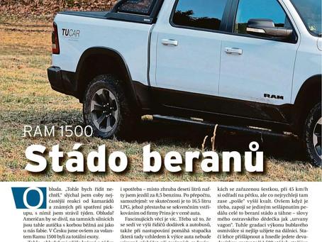 Auto DNES: Stádo beranů - test RAM 1500