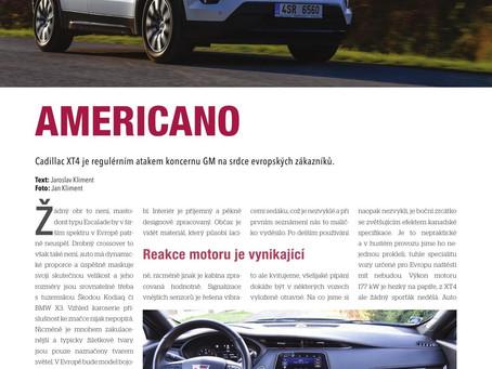 AMERICANO - test Cadillac XT4