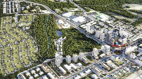 Visão aérea do Innovatti Center em Uberlândia