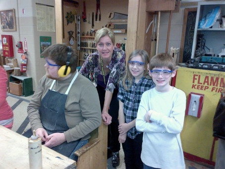RDS/MTES Students Work Together on Shop Project Thanks to EyesFirst Grant