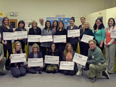 2012-13 Classroom Mini-Grants Presented