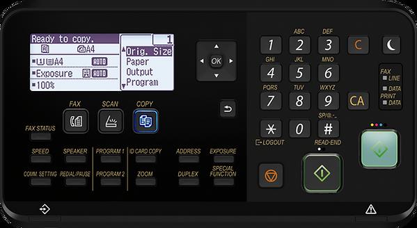 A3 Photocopier Control Panel