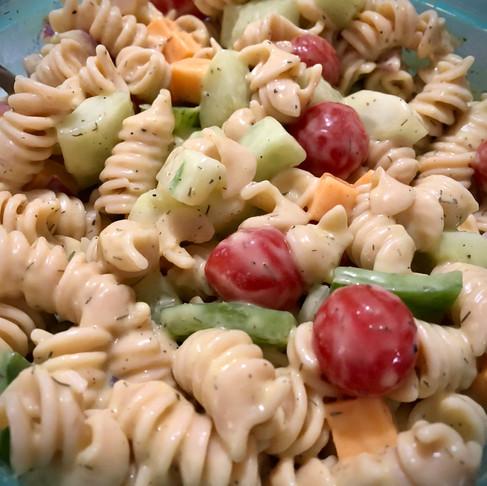 Creamy Dill Pasta Salad
