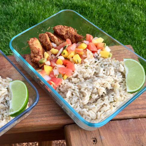 Southwest Chicken and Rice Bowl