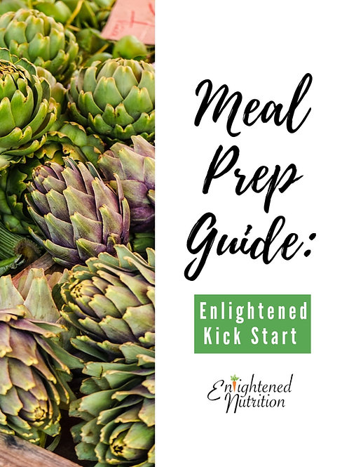 Meal Prep Guide: An Enlightened Kick Start
