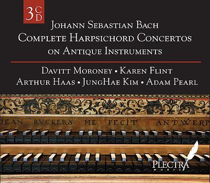 J. S. Bach - Complete Harpsichord Concertos