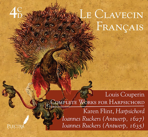 Louis Couperin - Complete Works for Harpsichord - Karen Flint