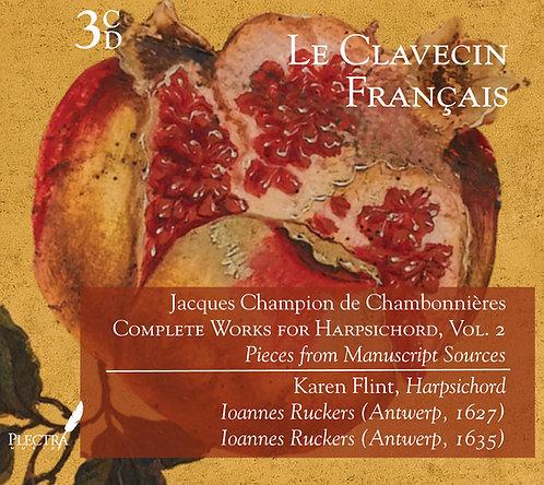 Chambonnières: Harpsichord Works, Vol. 2