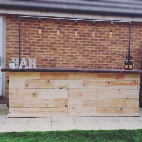 Our Gorgeous Edison Bar