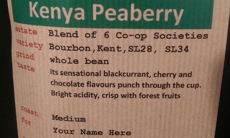 Kenya Peaberry