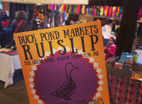 First Time at Ruislip Foodie Market this Sunday