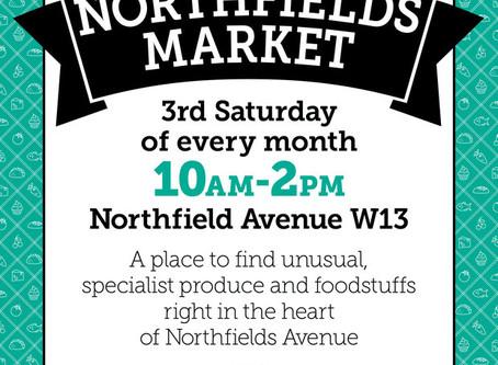 At Northfields Market, Saturday 17th June