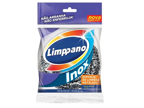 Esponja Limppano Aço Inox