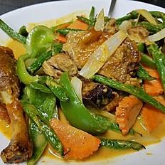 Peanut Curry Duck